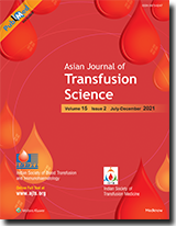 Asian Journal of Transfusion Science